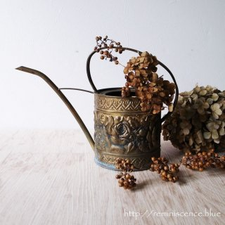 Antique Brass Watering Can