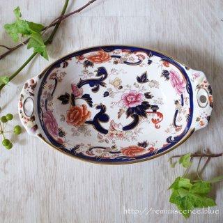 1920年代の英国に想いを馳せて/MASON'S Mandaley Blue Serving Dish