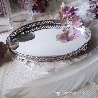 レースのごとき可憐な銀細工 / Antique Silver Plated Dressing Tary