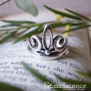 ティアラのような銀の指輪 / Vintage Sterling Silver Ring