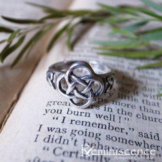 オークの知恵と力のリング / Vintage Sterling Silver Dara Knot Ring
