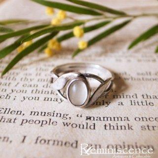 流れるような銀の指輪 / Vintage Starling Silver Ring