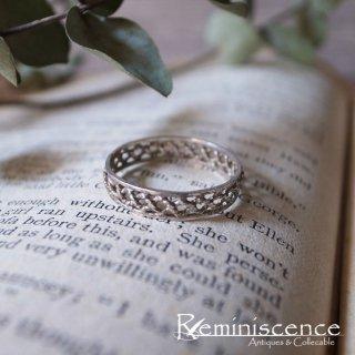 銀の糸で編まれた指輪 / Vintage Starling Silver Ring