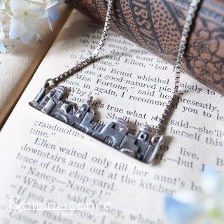 時も場所もわからない銀の街並み / Vintage Sterling Silver Necklace