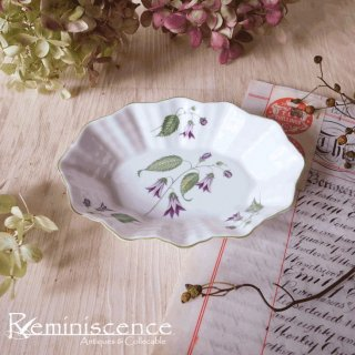 カンパニュラが揺れる小皿 / Vintage Mini Dish with Campanula by Shelley