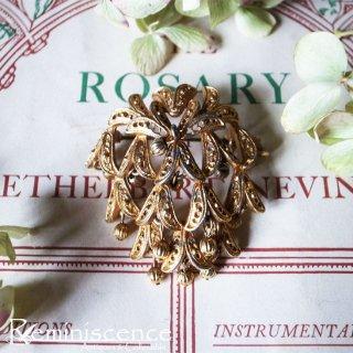 妖精が棲む花の森 / Vintage Bell Flower Brooch