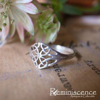 ケルトの聖なる木を象徴する銀の指輪  /Vintage Sterling Silver Ring