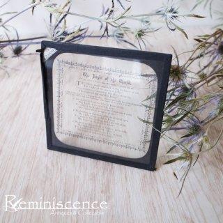 エドワーディアンの光学用品店から/ Antique Victorian Magic Lantern Glass Slide