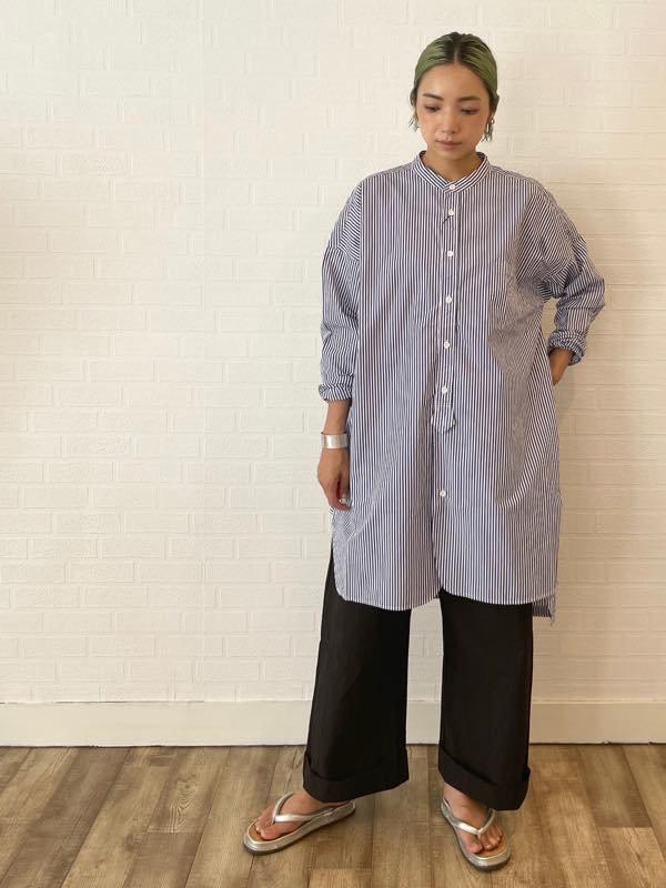 函館ルグ・TISSU    ティシュ   カッタウェイカフスワークシャツ