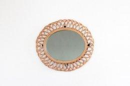 rotta rattan mirror ellipse S