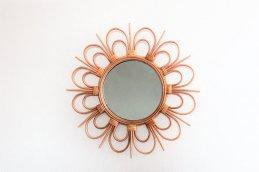 rotta rattan mirror fleur S