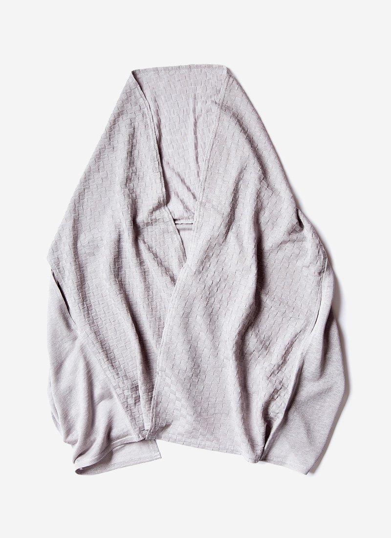 市松柄羽織りストール