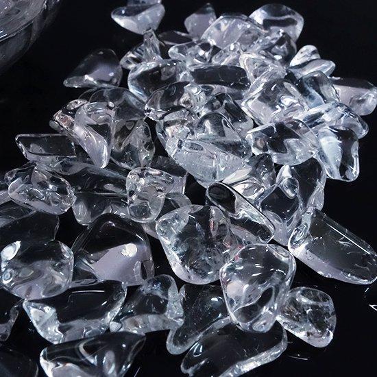 高品質天然水晶のさざれ100g(チップ)浄化、インテリアにおすすめ!の写真0 cute stone