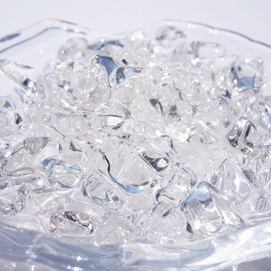 高品質天然水晶のさざれ100g(チップ)浄化、インテリアにおすすめ!の写真3 cute stone