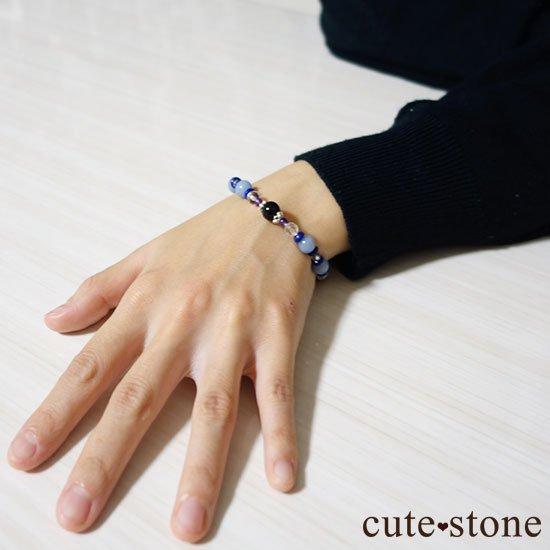 【冬のお守り】モリオン エンジェライト ラピスラズリ アメジスト 水晶の写真5 cute stone