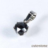 ブラックダイヤモンド 0.5ct プラチナ900製ペンダントトップの画像