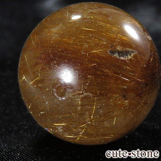 【粒売り】特大ブラウンルチルインクォーツ 20mmの写真4 cute stone