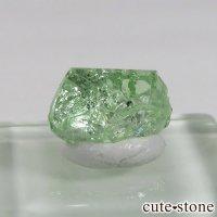 タンザニア産 ツァボライトの結晶(原石) 3.4ctの画像