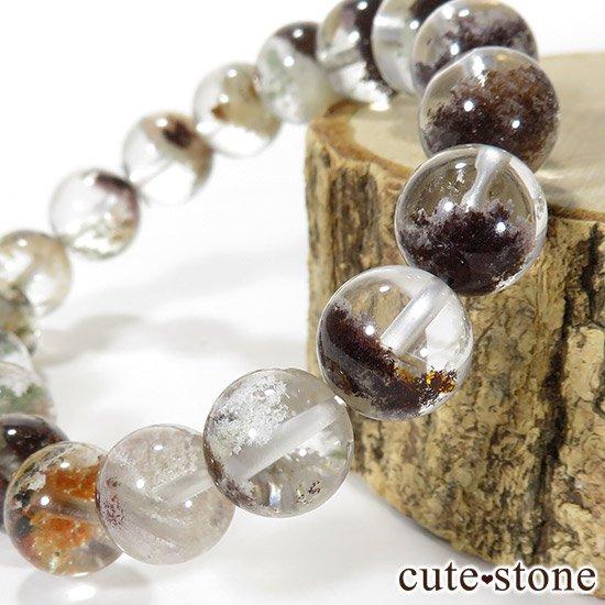 【1/2売り対象】 ガーデンクォーツ AAA++ 10.5mm ブレスレットの写真2 cute stone