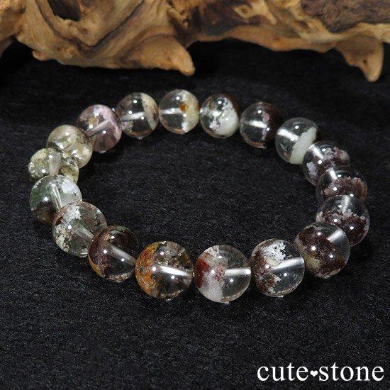 【1/2売り対象】 ガーデンクォーツ AAA++ 10.5mm ブレスレットの写真3 cute stone