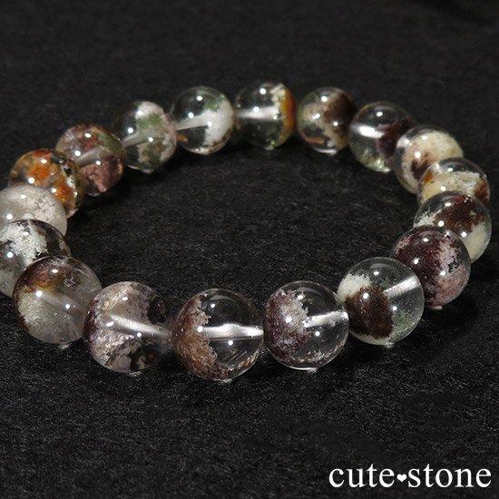 【1/2売り対象】 ガーデンクォーツ AAA++ 10.5mm ブレスレットの写真4 cute stone