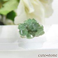 アフガニスタン産 デマントイドガーネット(アンドラダイトガーネット)結晶(原石)3.9ctの画像