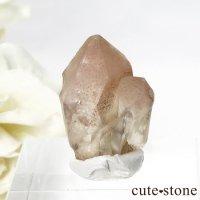 カザフスタン産 ストロベリークォーツ(苺水晶)のクラスター・原石 3.8gの画像