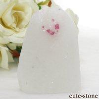 ベトナム産 ピンクスピネルの母岩付き結晶 (原石) 47gの画像