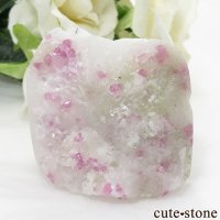 ベトナム産 ピンクスピネルの母岩付き結晶 (原石) 84gの画像