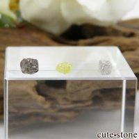 ザンビア産 ダイヤモンドの原石 3点セット No.4の画像