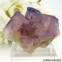 イリノイ州 Cave-in-Rock産 フローライト(蛍石)の原石 32g の画像