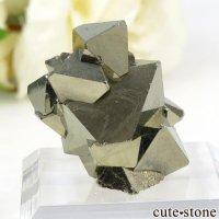 ペルー Huanzala Mine産 八面体パイライトの原石 16.7gの画像