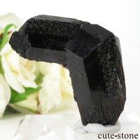 ナミビア エロンゴ産 ブラックトルマリン(ショール)の結晶(原石) 43gの画像