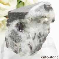 辰砂(シンシャ)シナバーの母岩付き原石 57.7gの画像