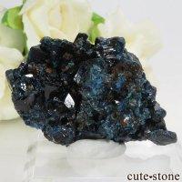 カナダ ユーコン ラピッドクリーク産 ラズライト(天藍石)の母岩付き結晶(原石) 20.5gの画像