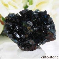 カナダ ユーコン ラピッドクリーク産 ラズライト(天藍石)の母岩付き結晶(原石) 11.2gの画像