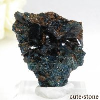 カナダ ユーコン ラピッドクリーク産 ラズライト(天藍石)の母岩付き結晶(原石) 7.7gの画像