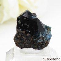 カナダ ユーコン ラピッドクリーク産 ラズライト(天藍石)の結晶(原石) 2.1gの画像