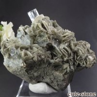 パキスタン産 アクアマリンの母岩付き結晶(原石) 206gの画像