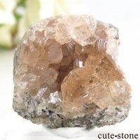 カナダ ケベック州 Jeffrey Mine産 グロッシュラーガーネットの原石 21.3gの画像