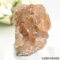カナダ ケベック州 Jeffrey Mine産 グロッシュラーガーネットの原石 14.3gの画像