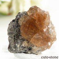 カナダ ケベック州 Jeffrey Mine産 グロッシュラーガーネットの原石 5.2gの画像