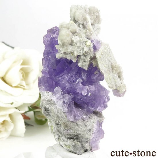 イタリア Monte Arsiccio Mine産 コキンバイトの母岩付き結晶(原石)33.2gの写真1 cute stone