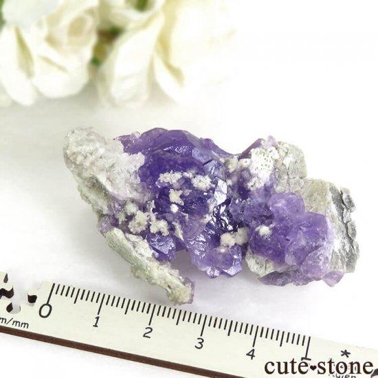 イタリア Monte Arsiccio Mine産 コキンバイトの母岩付き結晶(原石)33.2gの写真7 cute stone
