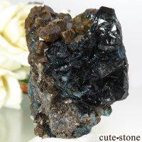 カナダ ユーコン ラピッドクリーク産 ラズライト(天藍石)の結晶(原石) 20gの画像