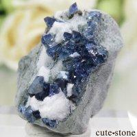 カリフォルニア産 ベニトアイトの母岩付き結晶(原石) 4.2gの画像