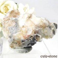 パキスタン カットラン産 トパーズの母岩付き結晶(原石) 73.9gの画像