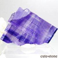 ドイツ産 パープルハライトの結晶(原石) 29.8gの画像