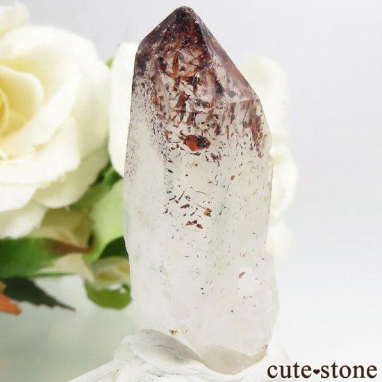 ナミビア産 レピドクロサイトインクォーツ(ファイアークォーツ)の結晶(原石) 8.2gの写真0 cute stone
