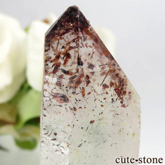 ナミビア産 レピドクロサイトインクォーツ(ファイアークォーツ)の結晶(原石) 8.2gの写真2 cute stone